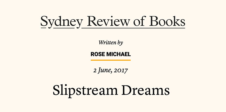 Article - Sydney Review of Books